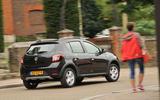 Dacia Sandero Stepway LPG rear cornering
