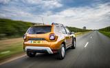 Dacia Duster Comfort TCe 100 4x2 driving - rear