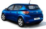 Dacia Sandero 2021 official images - Sandero rear