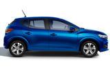 Dacia Sandero 2021 official images - Sandero side
