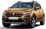 Dacia Sandero 2021 official images - Sandero Stepway front