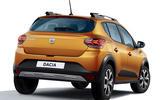 Dacia Sandero 2021 official images - Sandero Stepway rear
