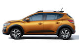 Dacia Sandero 2021 official images - Sandero Stepway side