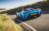 Dallara Stradale 2019 UK first drive review - hero rear