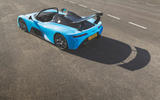 Dallara Stradale 2019 UK first drive review - static rear