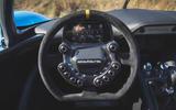 Dallara Stradale 2019 UK first drive review - steering wheel