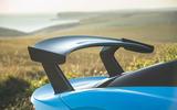Dallara Stradale 2019 UK first drive review - spoiler front