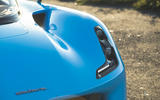 Dallara Stradale 2019 UK first drive review - headlights