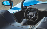 Dallara Stradale 2019 UK first drive review - cockpit
