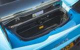 Dallara Stradale 2019 UK first drive review - boot