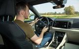Dan Prosser driving the Skoda Karoq