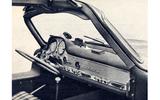 1955 Mercedes-Benz 300 SL dashboard