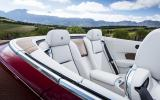 Rolls-Royce Dawn rear seats