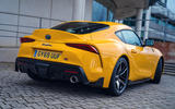 The Toyota GR Supra looks good from every angle – especially the rear