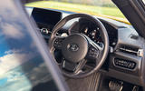 The bold graphics and high-res head-up display of the Toyota GR Supra bring the high-tech cockpit to life
