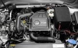 1.0-litre Volkswagen Golf Bluemotion engine