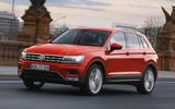 4 star Volkswagen Tiguan SEL 4Motion
