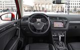 Volkswagen Tiguan SEL dashboard