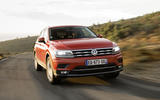 Volkswagen Tiguan Allspace on the road