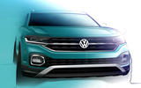 2019 Volkswagen T-Cross design shown in official preview