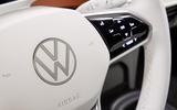2020 Volkswagen ID 3 reveal - steering wheel detail