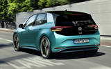 2020 Volkswagen ID 3 reveal - driving rear