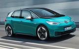 2020 Volkswagen ID 3 reveal - driving front