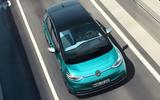 2020 Volkswagen ID 3 reveal - driving roof