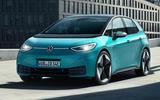 2020 Volkswagen ID 3 reveal - static front