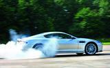 Aston Martin DBS - burnout side