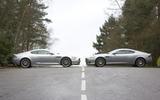 Aston Martin DBS with Aston Martin DB9