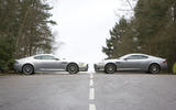 Aston Martin DBS with Aston Martin DB9