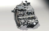 Volkswagen DSG gearbox cutaway