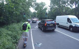 E-scooters can use bike lanes... but watch out for potentially calamitous road debris