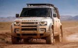 2020 Land Rover Defender reveal - off-roading front