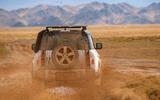 2020 Land Rover Defender reveal - off-roading rear