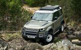 Land rover Defender offroad 1