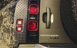 2020 Land Rover Defender reveal - brakelight detail