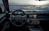2020 Land Rover Defender reveal - dashboard