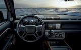 2020 Land Rover Defender reveal - dashboard