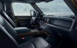 2020 Land Rover Defender reveal - interior