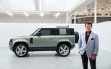 2020 Land Rover Defender reveal - Gerry McGovern