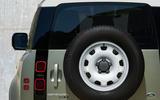 2020 Land Rover Defender reveal - spare wheel