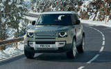 2020 Land Rover Defender reveal - driving front