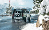 2020 Land Rover Defender reveal - driving rear