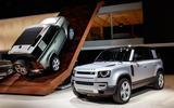 Land Rover Defender revealed at Frankfurt