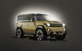 2019 Land Rover Defender Autocar rendering
