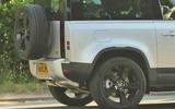 Land Rover Defender six-pot diesel close-up