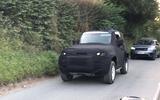 Land Rover Defender Utility spyshots