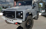 Land Rover Defender 90 Bowler